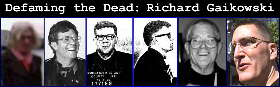 Zodiac Killer Richard Gaikowski