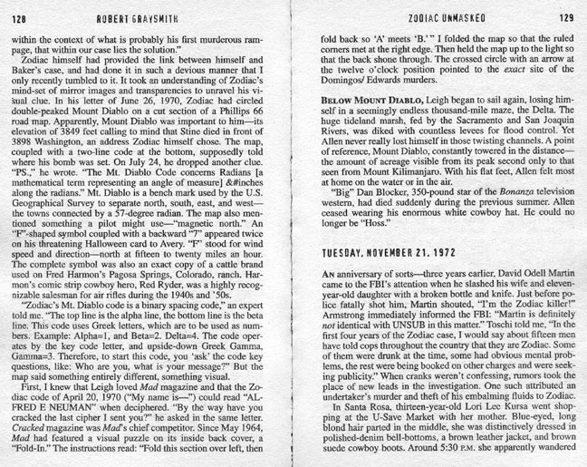 Zodiac Unmasked by Robert Graysmith (2007, Paperback) Identity of Serial Killer