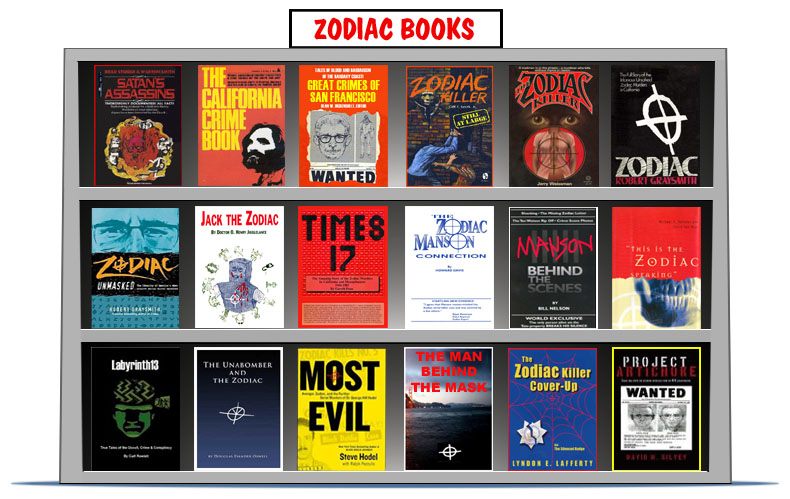 Book Cover Fantasy Zodiac : Zodiac books killer facts separating fact fiction