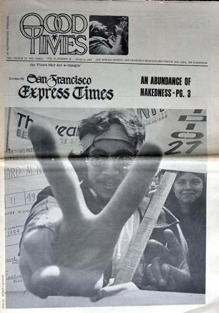 ZKF - San Francisco Good Times 4-9-1969