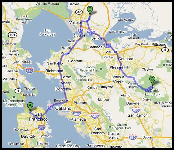 Google Map BRSP and Stine