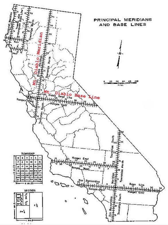 Mount Diablo Meridian and Baseline
