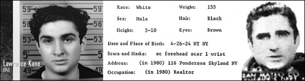 Zodiac-Suspect-Larry-Kane-Mugshots