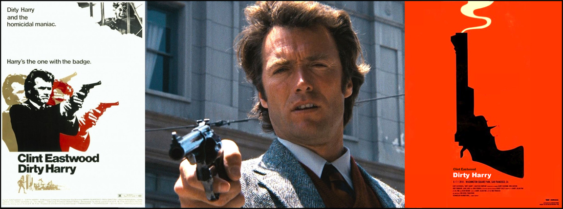 Dirty-Harry-Movie-Posters